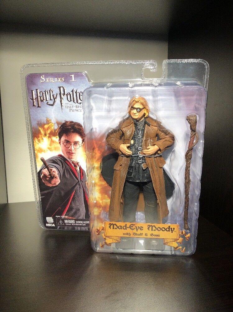 Harry Potter Half-Blood Prince Series 1 Mad-Eye Moody Figure NECA Reel Toys