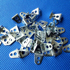 50pcs Big L-shaped angle iron For architectural model Toy Car Part DIY 3mm Hole