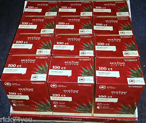 image is loading 12 boxes 1200ct red mini christmas lights 100ct