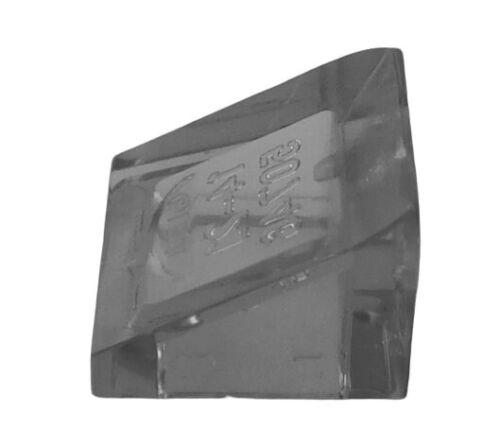 30 1x1x 2//3 NEUF 54200 Lego 10x Dachstein transparent noir trans-black