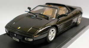 Bang-1-43-Scale-Metal-Model-8003-FERRARI-348-GTS-STRADALE-BLACK