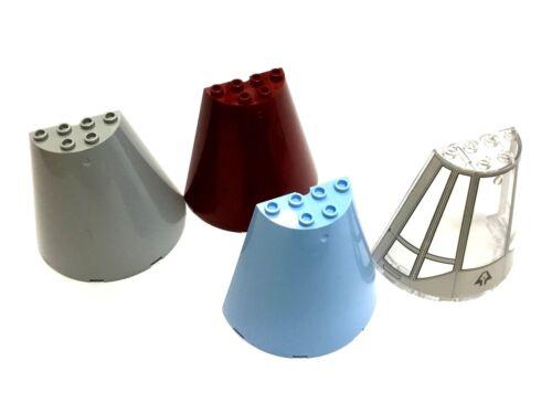 48310 8X4X6 Cone Half FREE P/&P! LEGO 47543 Select Colour