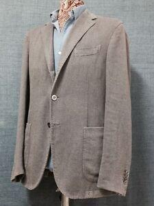 Manteau Grey Manteau Boutons Color 3 London Taille Nouveau Boglioli 50 txUqwCF