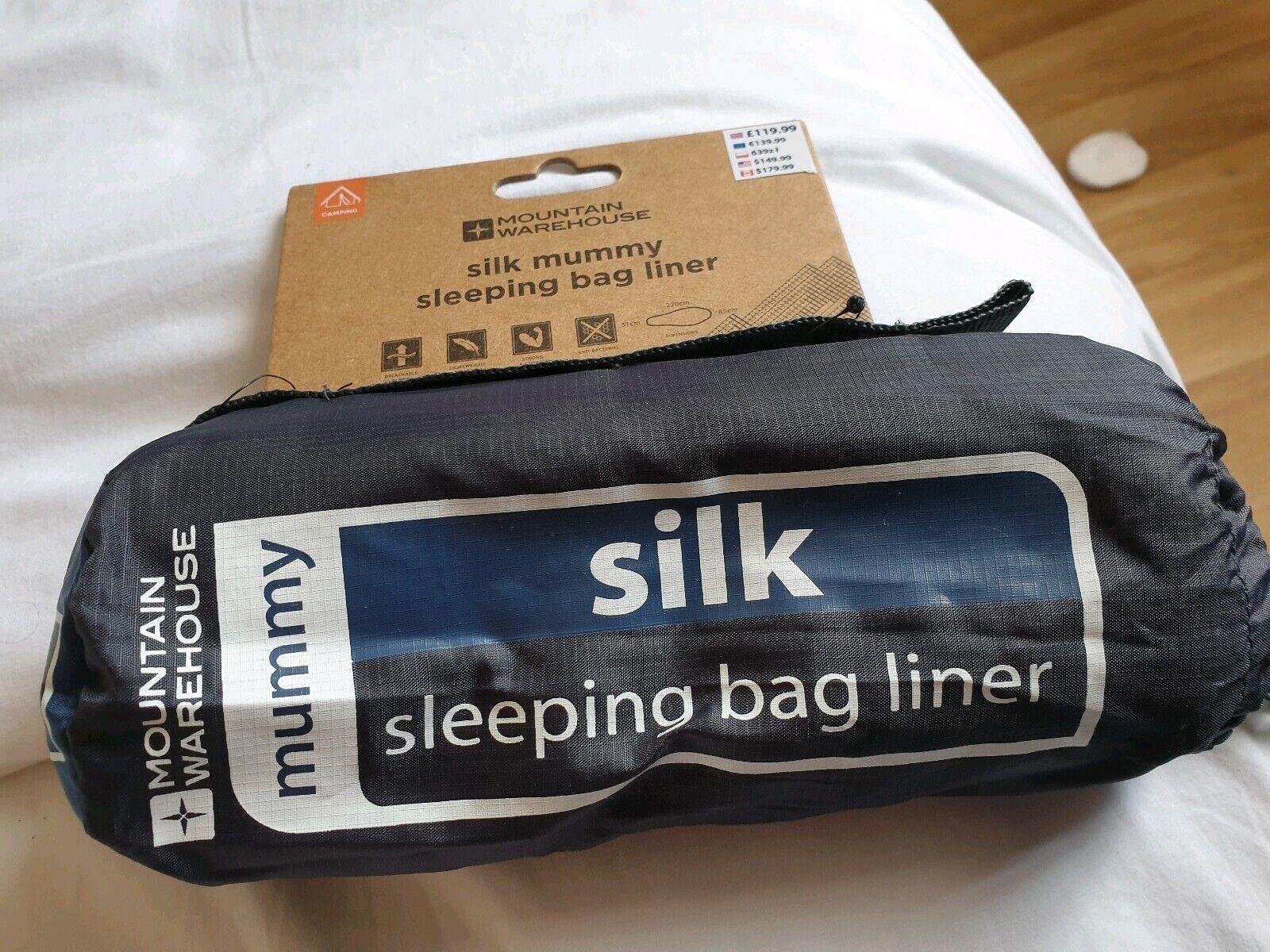 Mountain Warehouse Mummy Silk  Sleeping Bag Liner  brand
