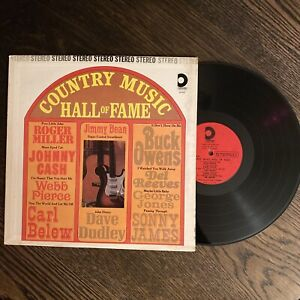 Country Misic Hall Of Fame Vinyl LP DLP 620 Johnny Cash Buck Owens VG++
