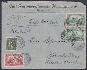 DR-Mi-Nr-159-b-113-A-113-MiF-Wertbrief-geprueft-Winkler-BPP-Naumburg-1921