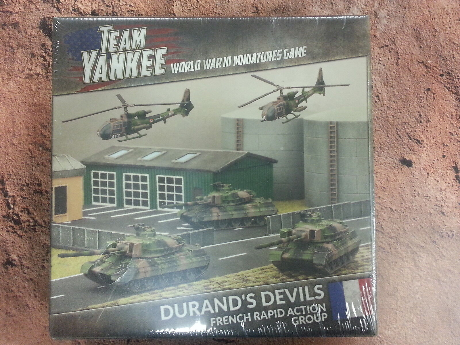 TEAM YANKEE DURAND`S DEVILS FRENCH RAPID ACTION GROUP -  NEW AND SEALED