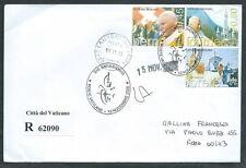 2005 VATICANO FDC GIOVANNI PAOLO II VIAGGI DEL PAPA TIMBRO ARRIVO - F-2