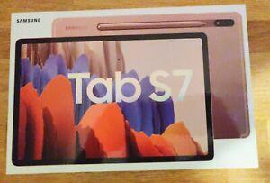 """Samsung Galaxy Tab S7 SM-T870 512GB, Wi-Fi, S-Pen, 11"""" - Mystic Bronze"""