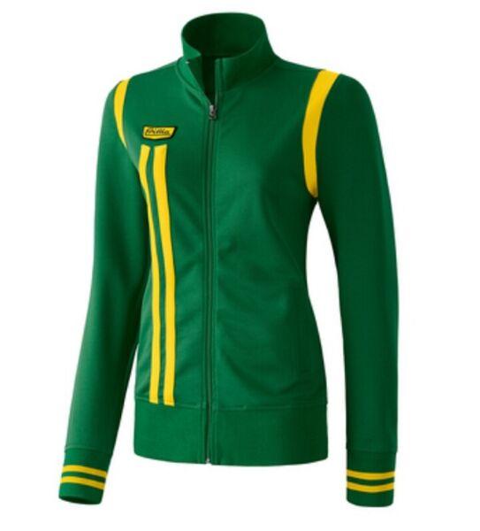Erima Damen Jacke Retro Jacket Women smaragdgrün 207407