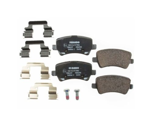 For Volvo S60 V60 V70 XC60 XC70 Rear Disc Brake Pad Ferodo FDB4237//FDB 4237