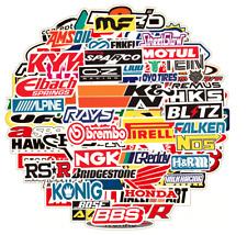 Automotive Sponsor Jdm 100 Decals Stickers Pack V1 Car Racing Turbo Drift