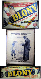 1940-039-s-Blony-Bubblegum-Counter-Display-Box-Empty