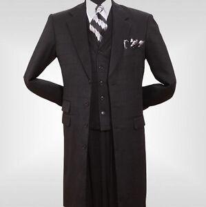 Men/'s super wool feel Jacket with Fancy Vest 3 button,Pants by Milano Moda 5908V