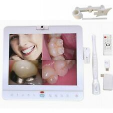 15 Inch Wireless Dental Monitor Intra Oral Camera Vgavideo Port With Lcd Holder
