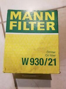Mann  Oil Filter W930/21 #A14