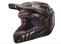 Leatt Gpx 6.5 V16 Helmet Mx Motocross Dirtbike Off Road Carbon Silver