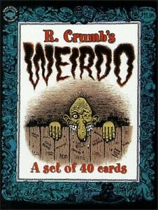 R-CRUMB-S-CLAY-WILSON-WEIRDO-MAGAZINE-TRADING-CARDS-BOX-SET-40-CARDS-NEW