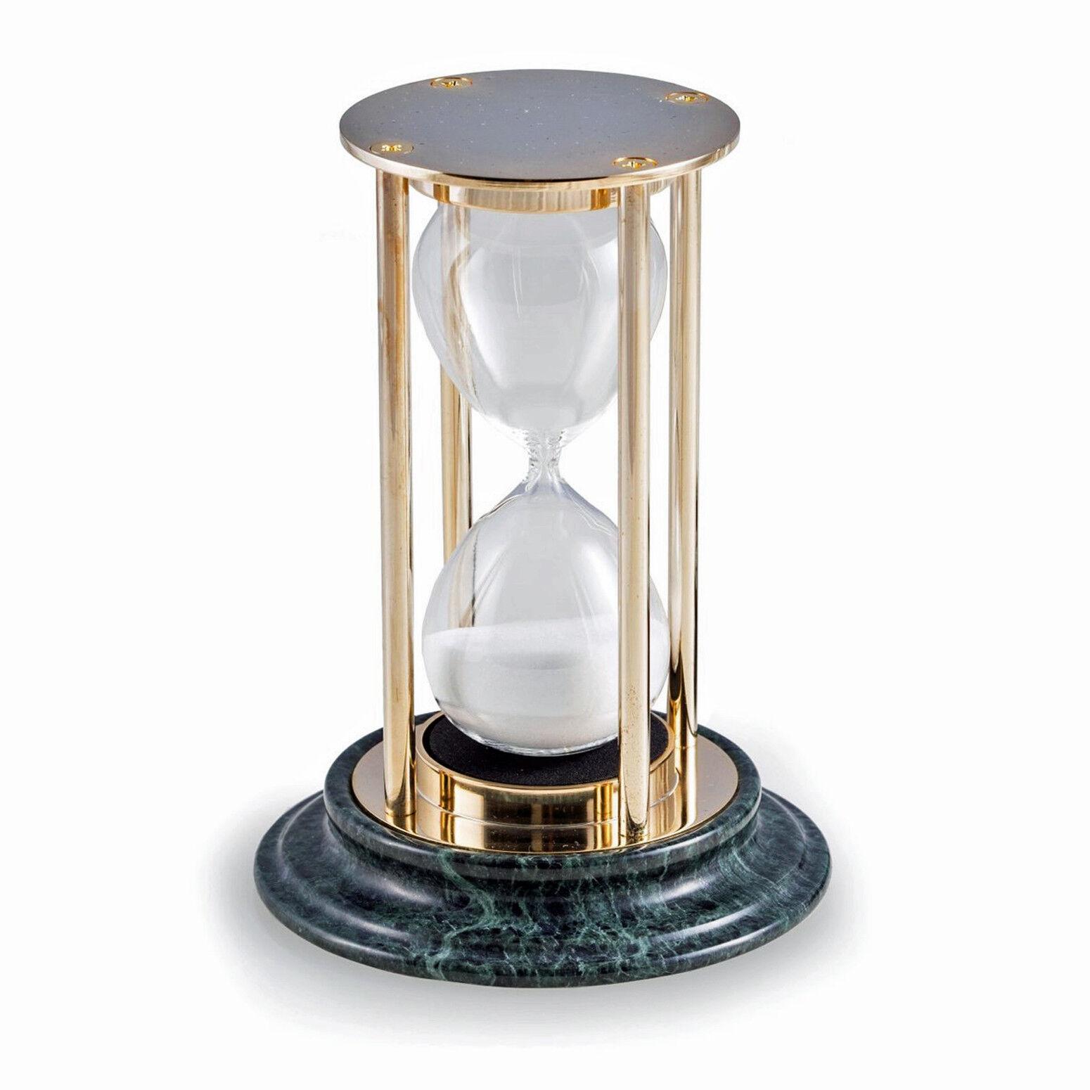Bureau Accessoires -  Sands Of Time  15 Minutes Sablier sable Minuterie-Socle marbre
