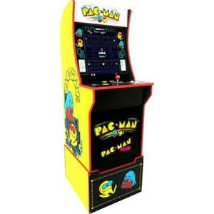 Pacman-Retro-Arcade-1UP-Machine-Arcade1UP-Riser-Cabinet-Video-Game-Cab-2-Games