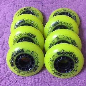 Skating Wheels Roller Skate Tires Slalom Sliding Inline Powerslide 80mm 85A Tire