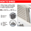 Professional-Vegetable-Fruit-Cutter-Grater-Adjustable-Safety-Home-Kitchen-Tool miniatura 4