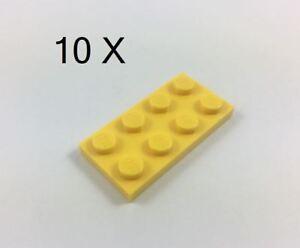 LEGO-Brick-Yellow-Plate-2-x-4-Part-No-3020-MOC