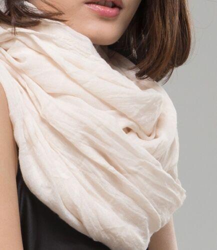 Foulard Unifarbe Foulard XXL écharpe coton doux Chiffon très agréable 190cmx110cm