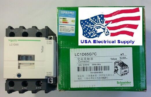 Schneider Electric LC1D20 P7 Schütz 4KW Spule 230 V 50//60 Hz