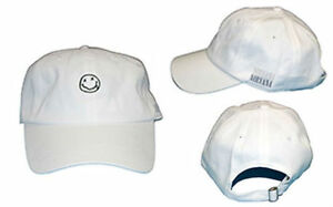 4518f82d05b RARE) Official NIRVANA Logo Smile Smiley Face Dad Hat Adjustable Cap ...