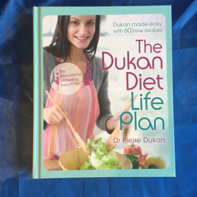 The Dukan Diet Life Plan - Dr Pierre Dukan Weight loss Diet Cookbook Like New