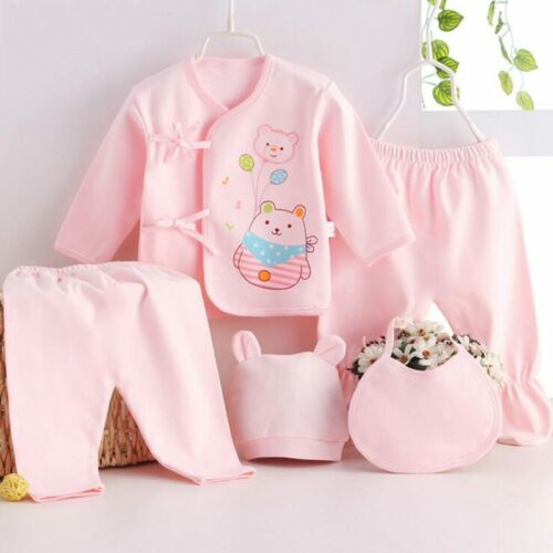 infant underwear set unisex clothing Bekamille Newborn baby sets 5pcs//set