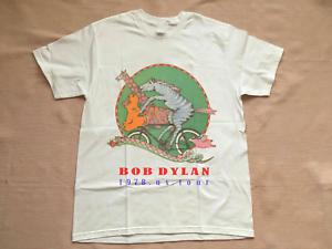 Rare-BOB-DYLAN-Tour-Concert-1978-White-Unisex-S-M-L-234XL-T-shirt-L631