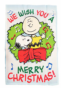 image is loading peanuts snoopy and charlie brown we wish you - Snoopy Merry Christmas Images