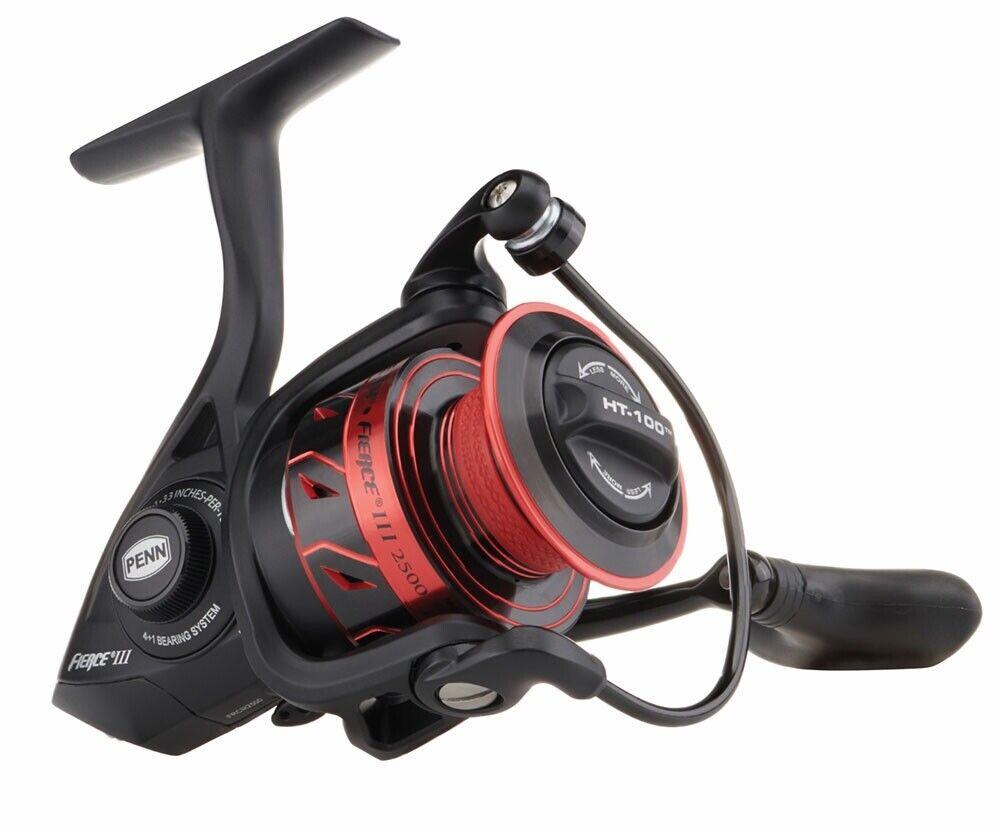 nuovo 2019 Penn FIERCE III 5000 FRCIII5000  Spin Spinning pesca Reel  Warranty