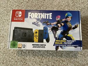 Fortnite Special Edition Nintendo Switch Console Euro Import New Free Shipping 45496453237 Ebay
