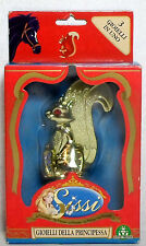 PRINCESS SISSI 1997 CROCK SQUIRREL WITH ACCESSORIES SET ITALY EUROPEAN NEW MIP