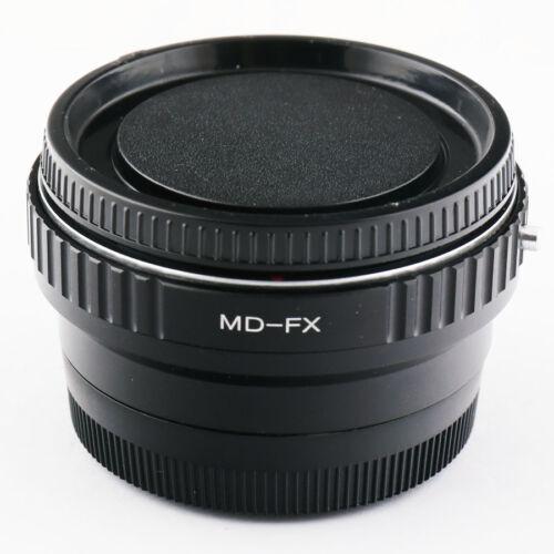 0.72x Focal Reducer Speed Booster Minolta MD lens to Fujifilm X Adapter FX