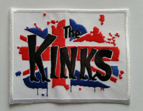 IRON ON PATCH: THE KINKS PUNK ROCK HEAVY METAL MODS MUSIC SEW ON