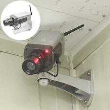 Dummy CCTV Camera Motion Detection Sensor Motorized Pan Movement Blinking LED IG
