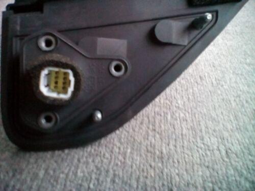 Isuzu 8-97292-917-2 Left White Folding Power Mirror 1998-2002 Rodeo OEM