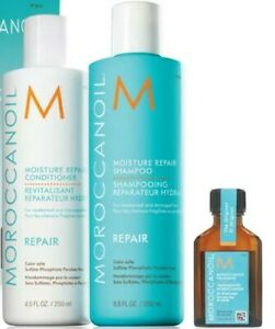 Moroccanoil-Repair-Shampoo-amp-Conditioner-2-x-250ml-Treatment-25ml-Trio-Set