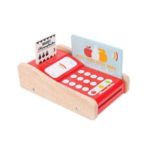 Le Toy Van TV320 EC-Kartengerät für Kaufladen Holz NEU!   #