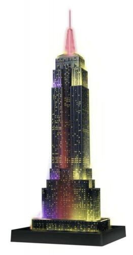 Ravensburger Empire State Building New York bei Nacht Night Edition 3D Puzzle Puzzles & Geduldspiele