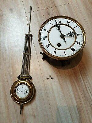 Silent Wall Clock Movement Replacement Repair Cross-Stitch DIY Tool Kit Plastic