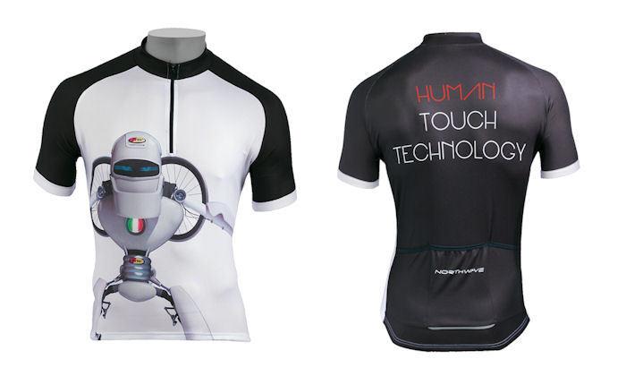 Jersey Shirt M Short Northwave Robot-Mod. Weiß