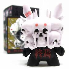 "Kidrobot ARCANE DIVINATION Dunny Series DEATH Black ?/?? Chase Tokyo Jesus 3"""