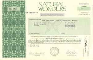 natural wonders store