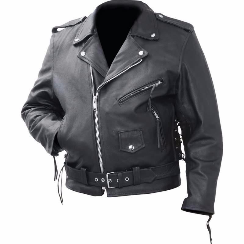 Magnifique Blouson style perfecto en cuir  M L XL 2XL 3XL  biker harley custom