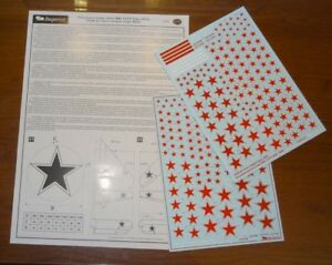 Begemot Decals 1/72 Urss Air Force Insignia Tipo 1955 #7275